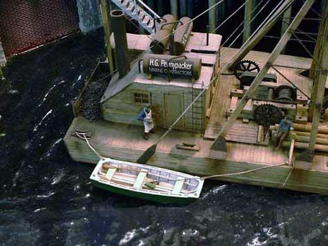 Port Kelsey Barge